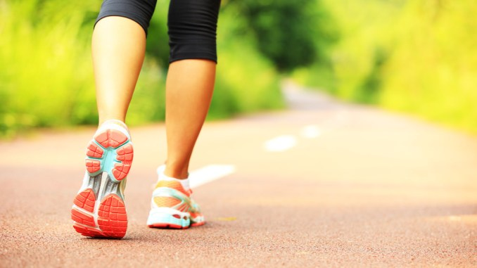 Walking assists in improving heart health