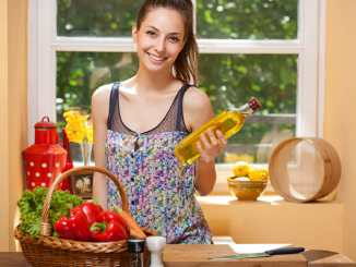 Two healthier cooking oils