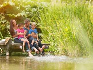 relaxing family