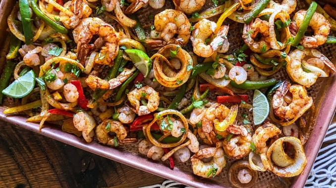 Seafood is part of a healthy diet