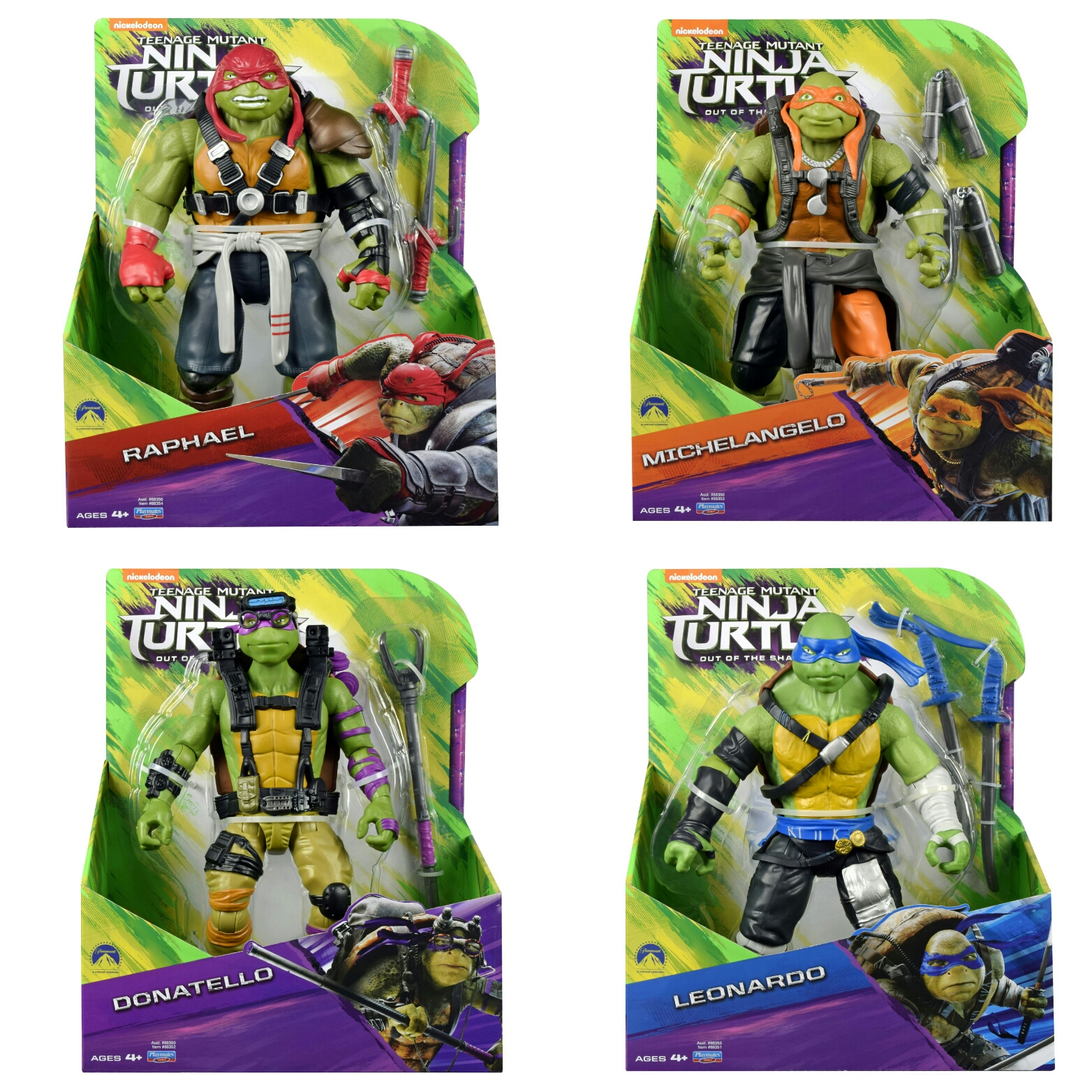 Teenage Mutant Ninja Turtles Come Out Of The Shadows With Action Packed Movie Toy Line Alternative Mindz