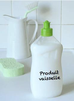 produit vaisselle fait maison