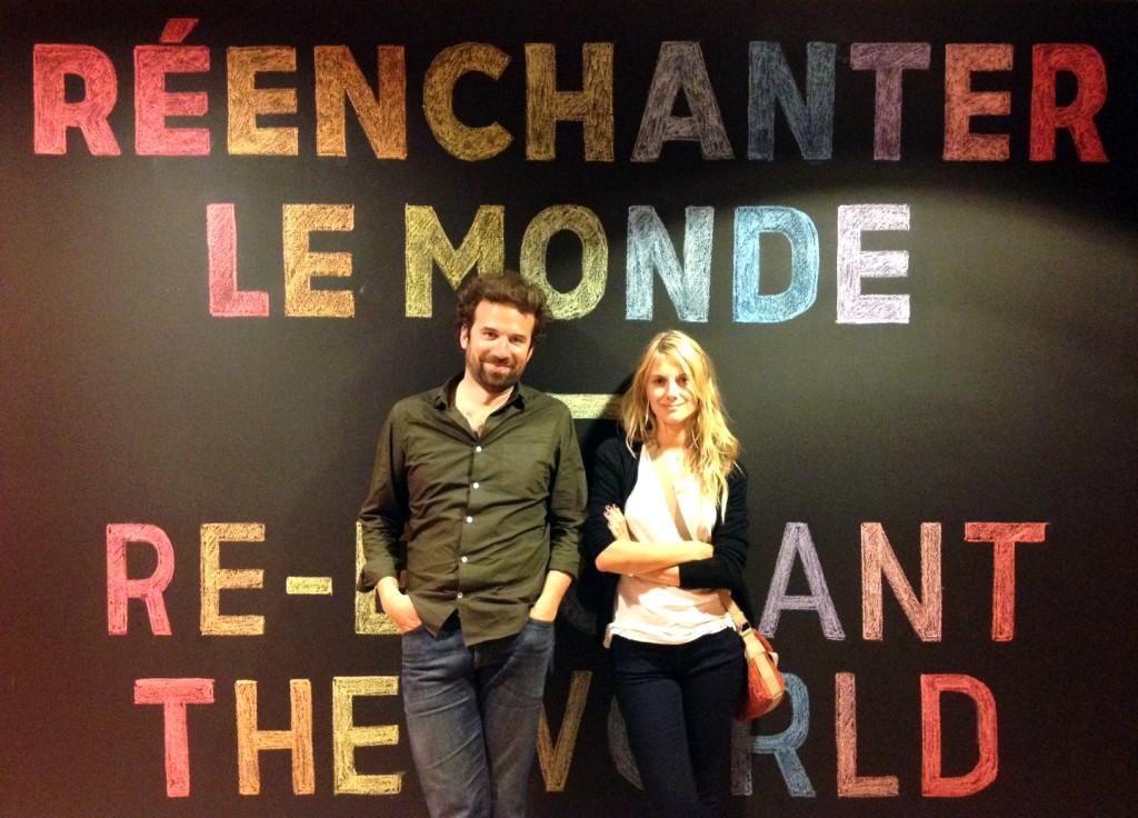 Cyril Dion et Mélanie Laurent - cc @SoAnn