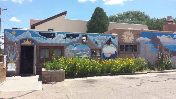 hostel mural