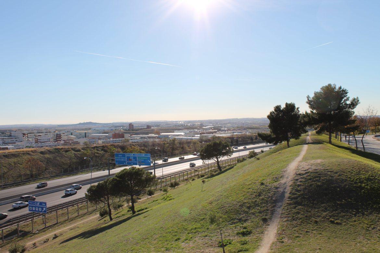 Las Tetas Park in Vallecas, Madrid - Madrid auxiliares