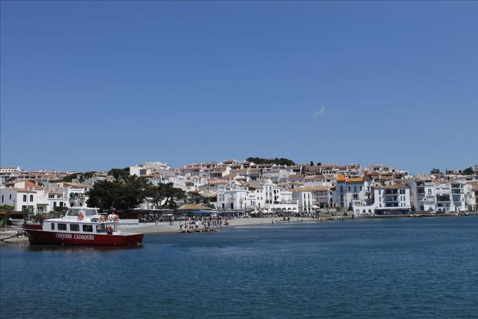 Cadaqués, Spain. Renting a car allows you the freedom to explore smaller towns, and can be affordable if you split with a group of people (provided someone can drive stick shift!).