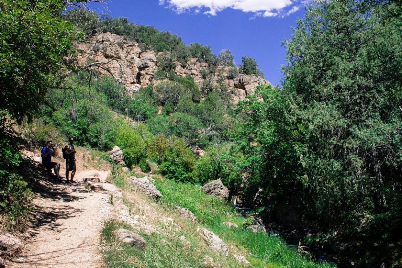 Diamond Fork Hot springs trail