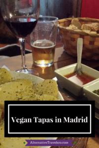 Vegan Tapas in Madrid Guide - AlternativeTravelers.com