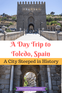 Spain TraveL: A Day Trip to Toledo, Spain. One of the best day trips from Madrid and a must-visit for any traveler to Spain. Click the link to learn more.