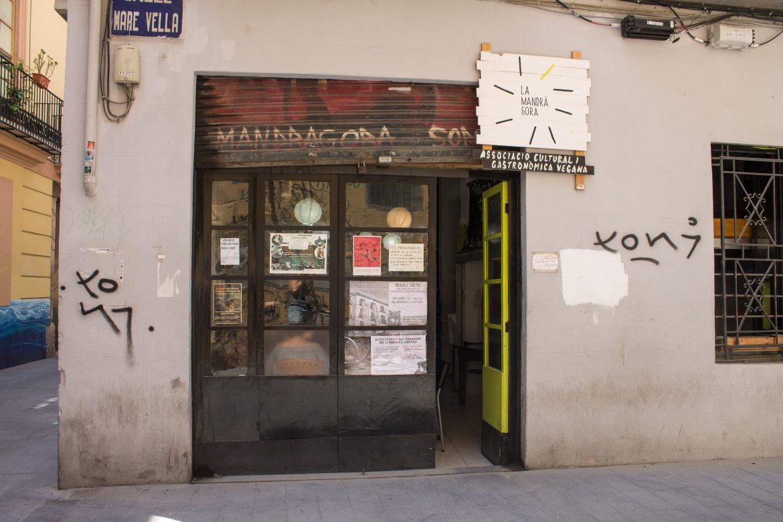 La Mandragora vegan restaurant in Valencia