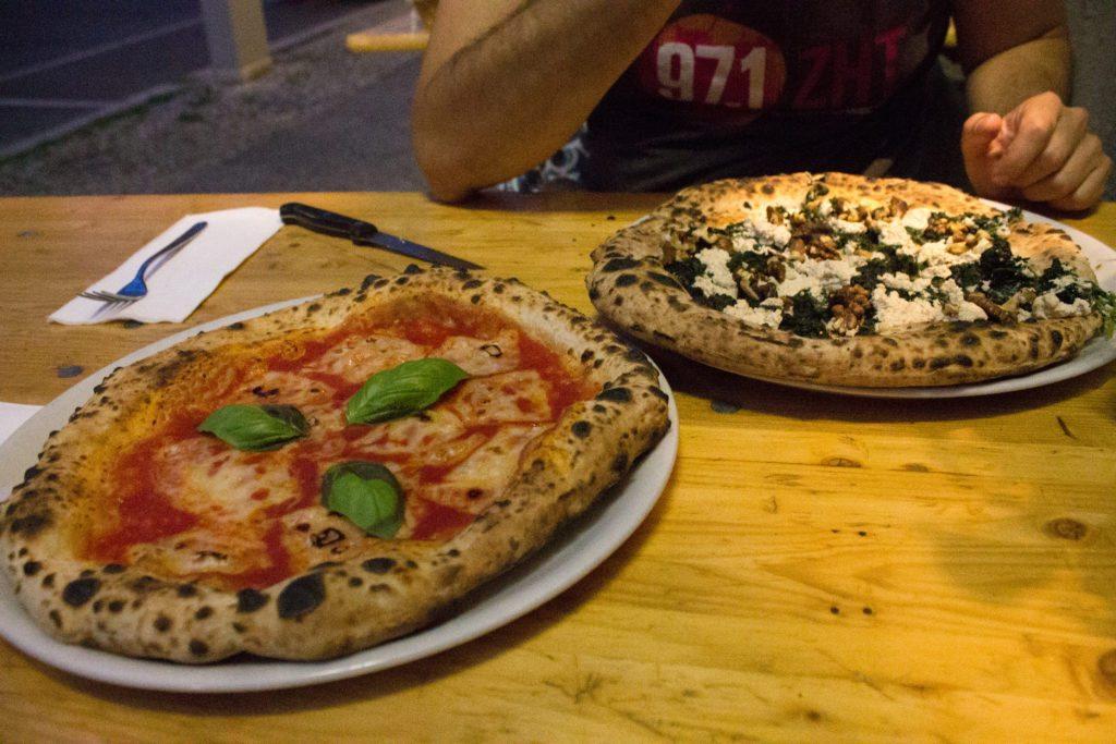Vegan pizza in Berlin at Stella Nera