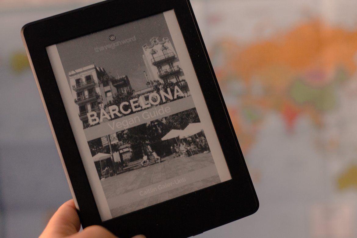 Books About Spain: Barcelona Vegan Guide by Caitlin Galer-Unti of The Vegan Word