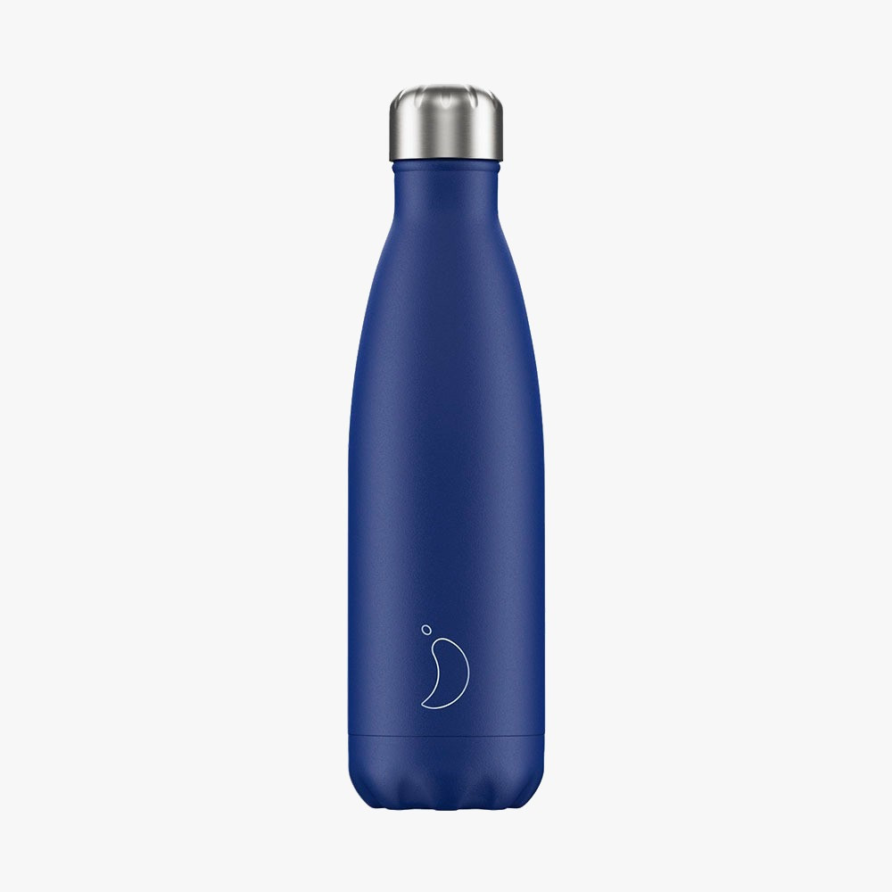 bouteille bleu mat 500 ml chilly s