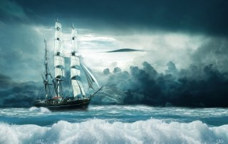 She is the Ocean and He the Ship