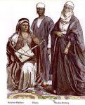 Ägypten. Beduinen Musikant, Sklavin, Strassenkleidung.