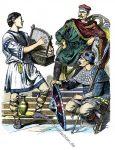 Karolinger. Minnesänger, karolingischer Herzog und Ritter um 800.