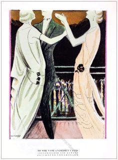 Abendkleider, Kuhnen, Leonard, STYL, Modemagazin, 1920er, Modegeschichte, Art deco,