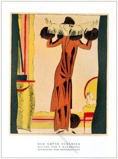 Schleier, Mantel, Mannheimer, Annie Offterdinger, STYL Modemagazin, 1920er, Modegeschichte, Art deco,