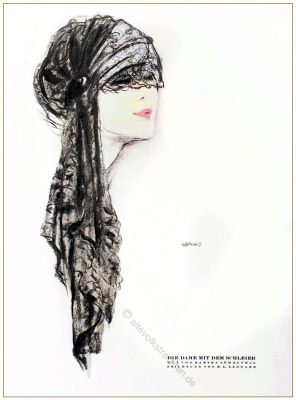 Martha Löwenthal, Hut, HutmodeSTYL Modemagazin, 1920er, Modegeschichte, Art deco,
