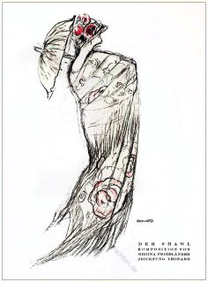 Regina Friedländer, Styl, Modemagazin, 1920er, Modegeschichte, Art deco,