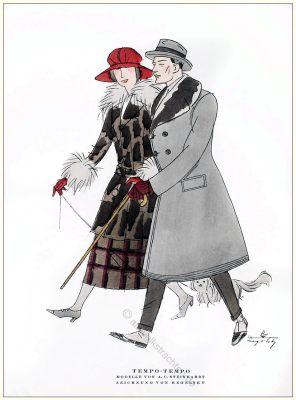 Steinhart, Regelsky, Styl, Modemagazin, 1920er, Modegeschichte, Art deco,