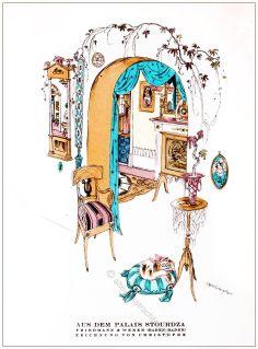 Styl, Modemagazin, 1920er, Modegeschichte, Art deco,