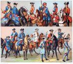 UNIFORMEN UNTER LUDWIG XV. 1724-1745.