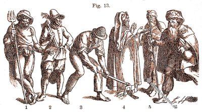Trachten, Renaissance, Jost Amman, Pilger, Winzer, Friedrich Hottenroth,