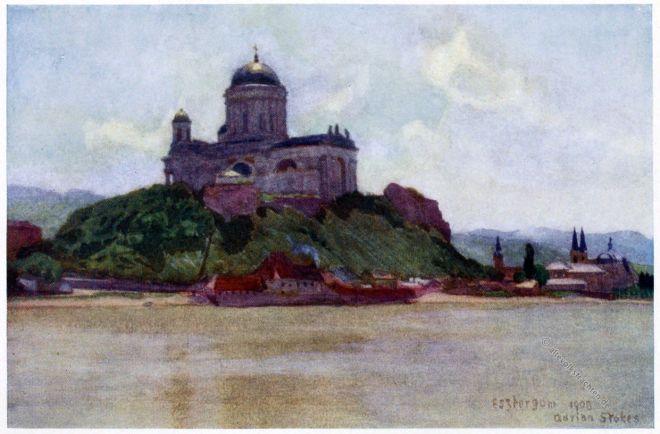 Basilika, Esztergom, Gran, Ungarn, Adrian Scott Stokes