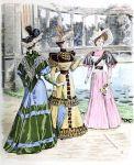 Neueste Pariser Mode. THE QUEEN 1893.