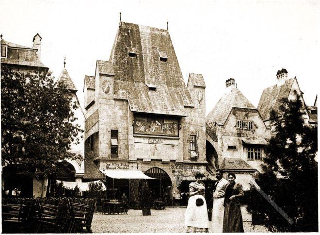 Wien, Vienna, Church, Alt-Wien, Columbian Exposition, Chicago, Adolph Wittemann, Stadtansicht