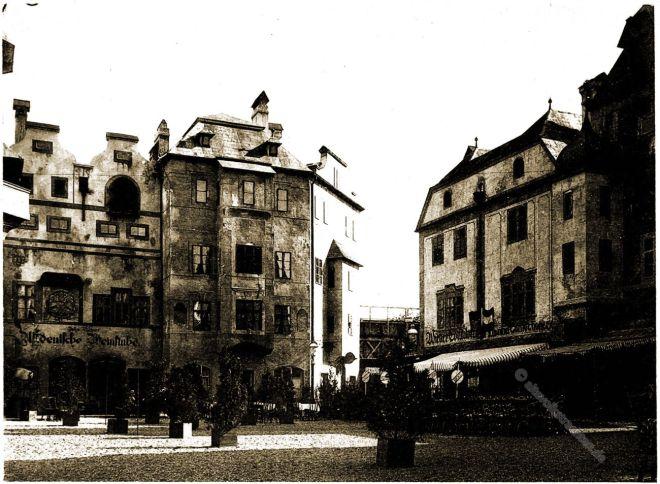 Weinstube, Wiener Konditorei, Alt-Wien, Champagner Büffet , Columbian Exposition, Chicago, Adolph Wittemann, Stadtansicht