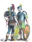 Römische Legionäre. Soldaten der Antike.