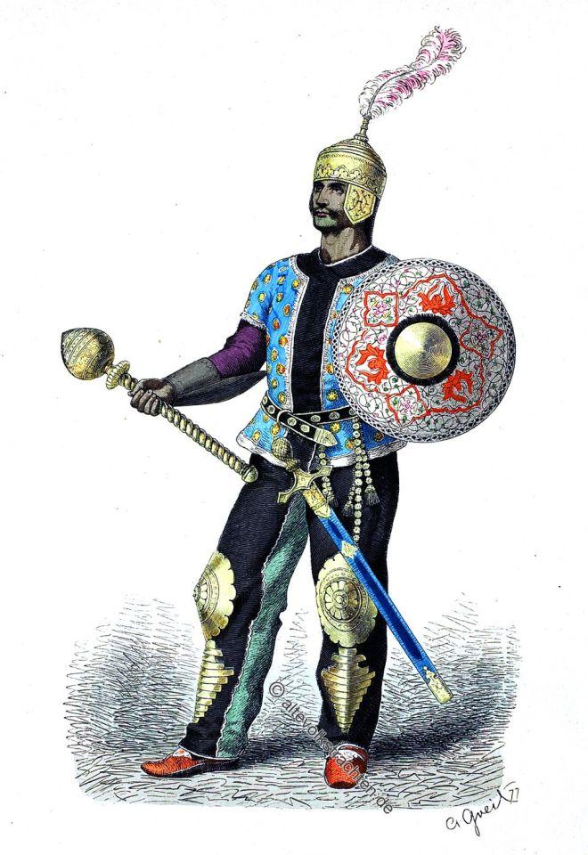 Persischer General im Mittelalter.