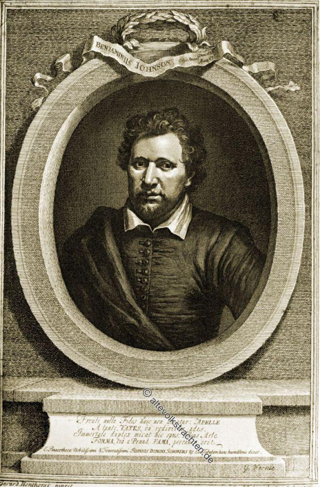 Ben Johnson, England, Barock, Dramatiker, Dichter, Schauspieler, Literaturkritiker,
