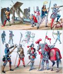 Artillerie, verschiedene Waffen. Mittelalter. Frankreich, 15. Jh.