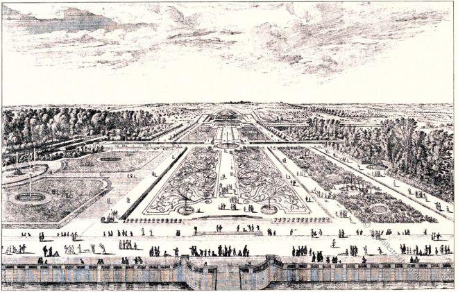 Vaux-le-Vicomte, Schloß, Israel Silvestre, Barock, Garten