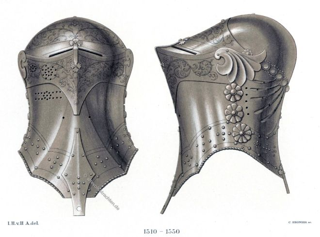 Stechhelm, Turnierhelm, Rüstung, Harnisch, Ritterturnier, Turnier, Renaissance