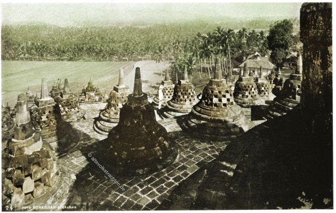 Borobudur, Java, Tempel, Tempelanlage, Buddhismus, Indonesien,