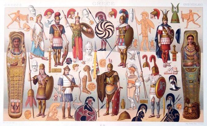 Griechenland, Antike, Krieger, Waffen, Rüstung, Phalangit, Hippeis, Peltast, Hoplit,