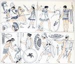 Spartaner, Hopliten, Peltasten. Das griechische Militär der Antike.