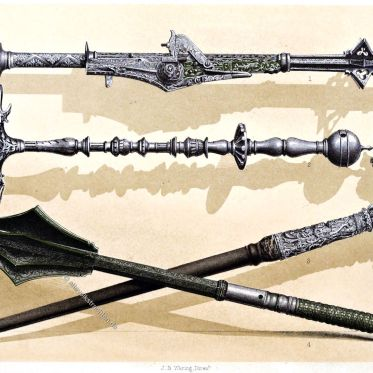 Streithämmer, Meyrick Collection, Waffen, Rüstung,