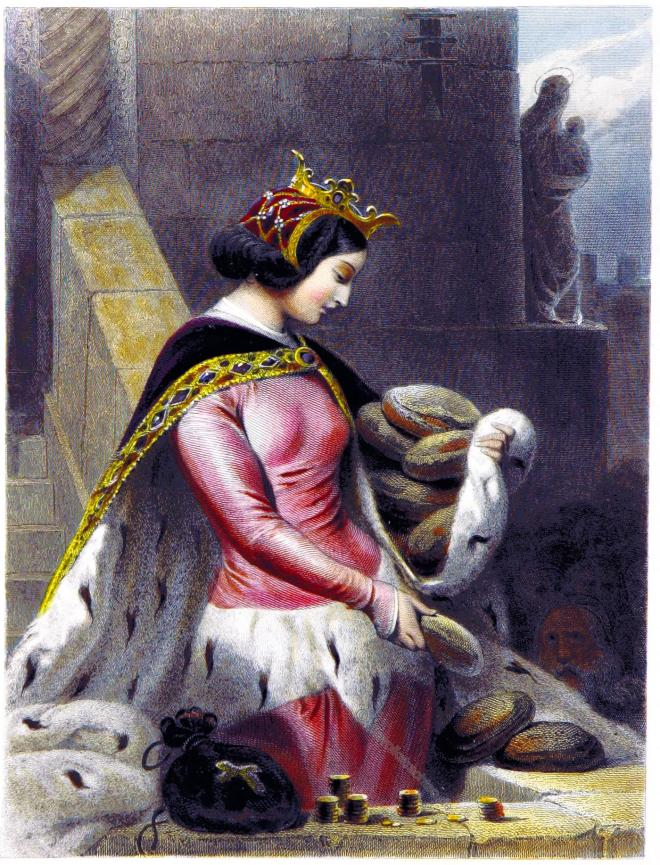 Katholische, heilige, Bertha, Bingen, Mittelalter