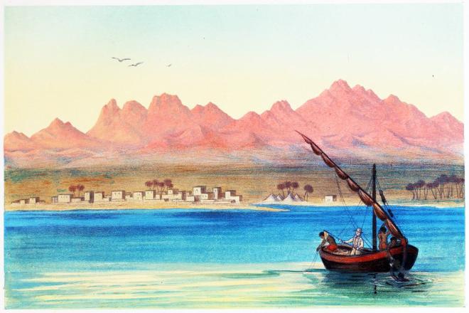Dschebel Musa, Djebel Serbai, Ägypten, Al-Tur, Tur, Sinai, At-Tur, Haeckel, Erich,