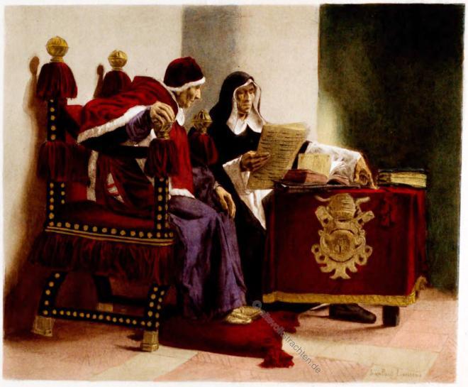 Pope, Inquisitor, Jean Paul Laurens,