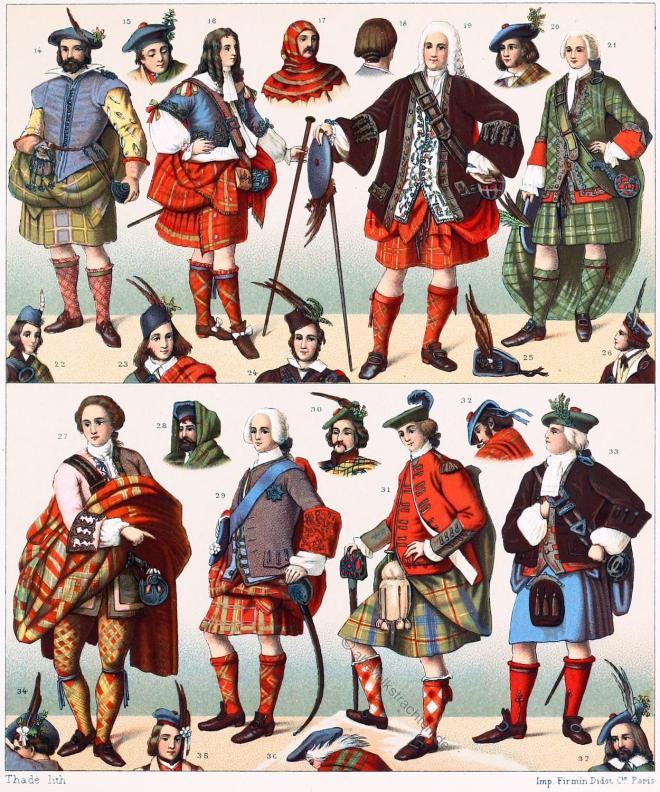 Schottland, Nationaltrachten, kilt, tartan, Plaid, clans, krieger,