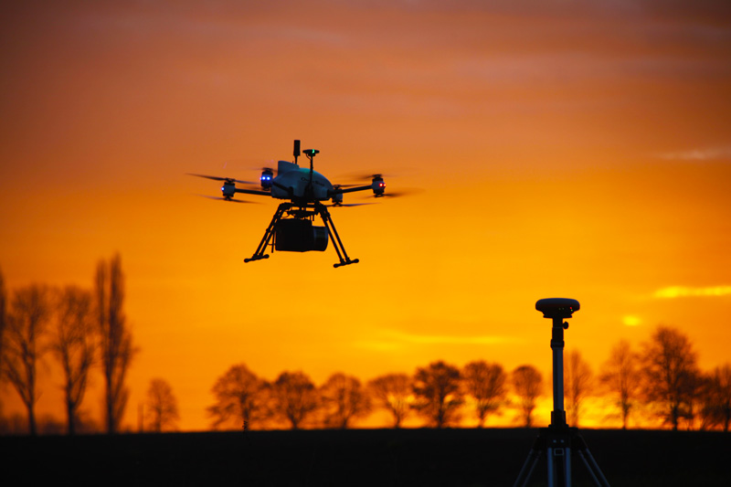 Aerial Lidar On UAV 1 - LiDAR OnyxScan