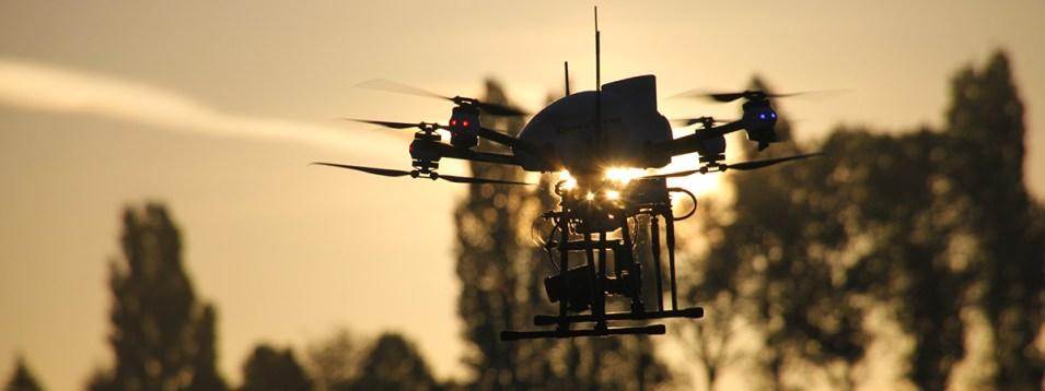 Drone pour la thermographie