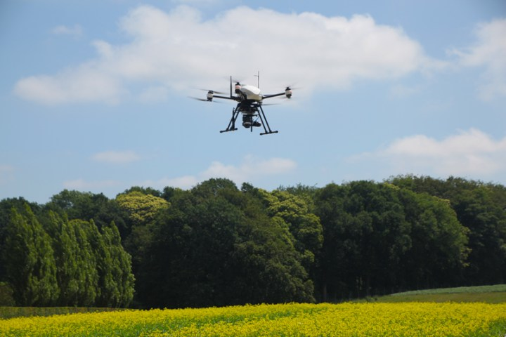 Drone thermography for agronomic research and crop control