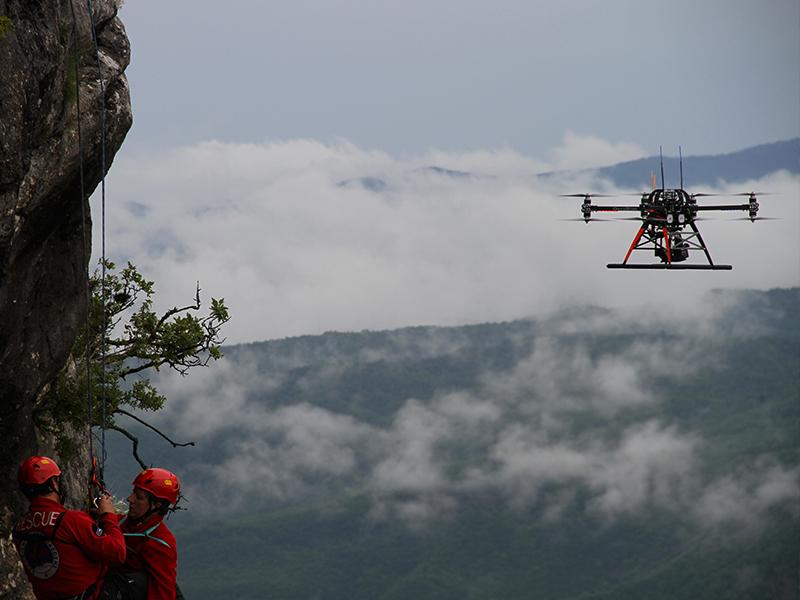 altigator drone uav sar mountain rescue sauvetage - Applications pour drones